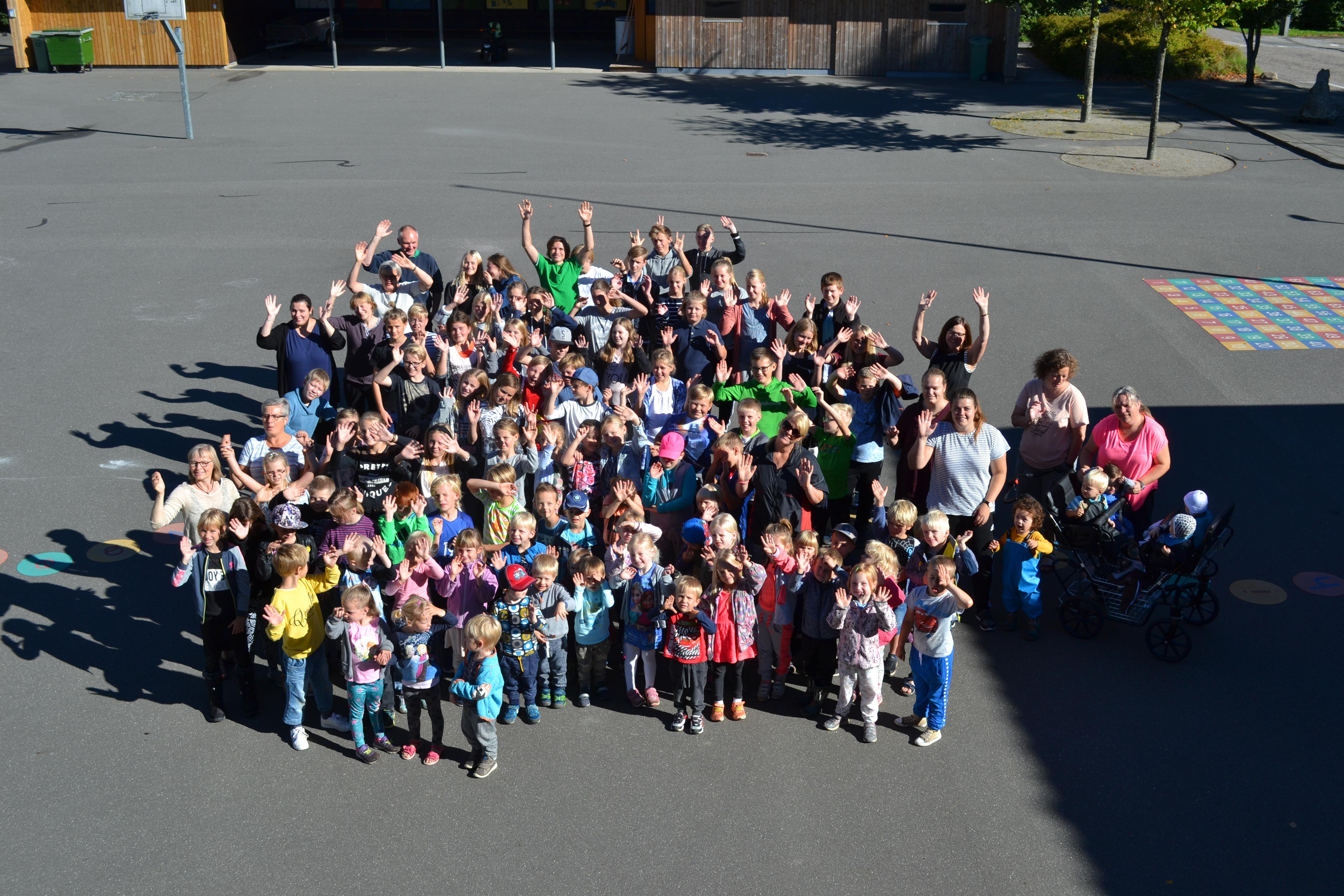 Blære Friskole og Børnehuset Boblen September 2016